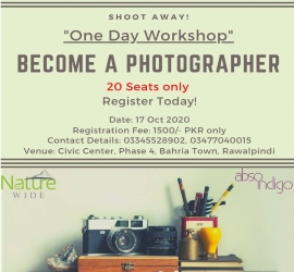 Photography Workshop | Absoindigo | 17 Oct, 2020