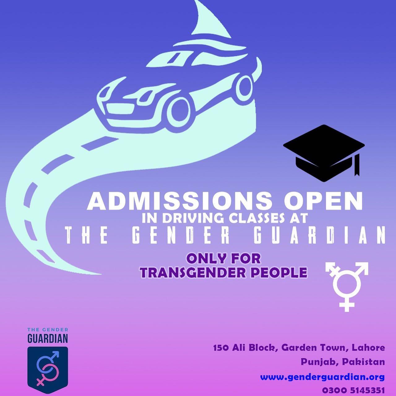 Free Driving Classes for Transgender Community