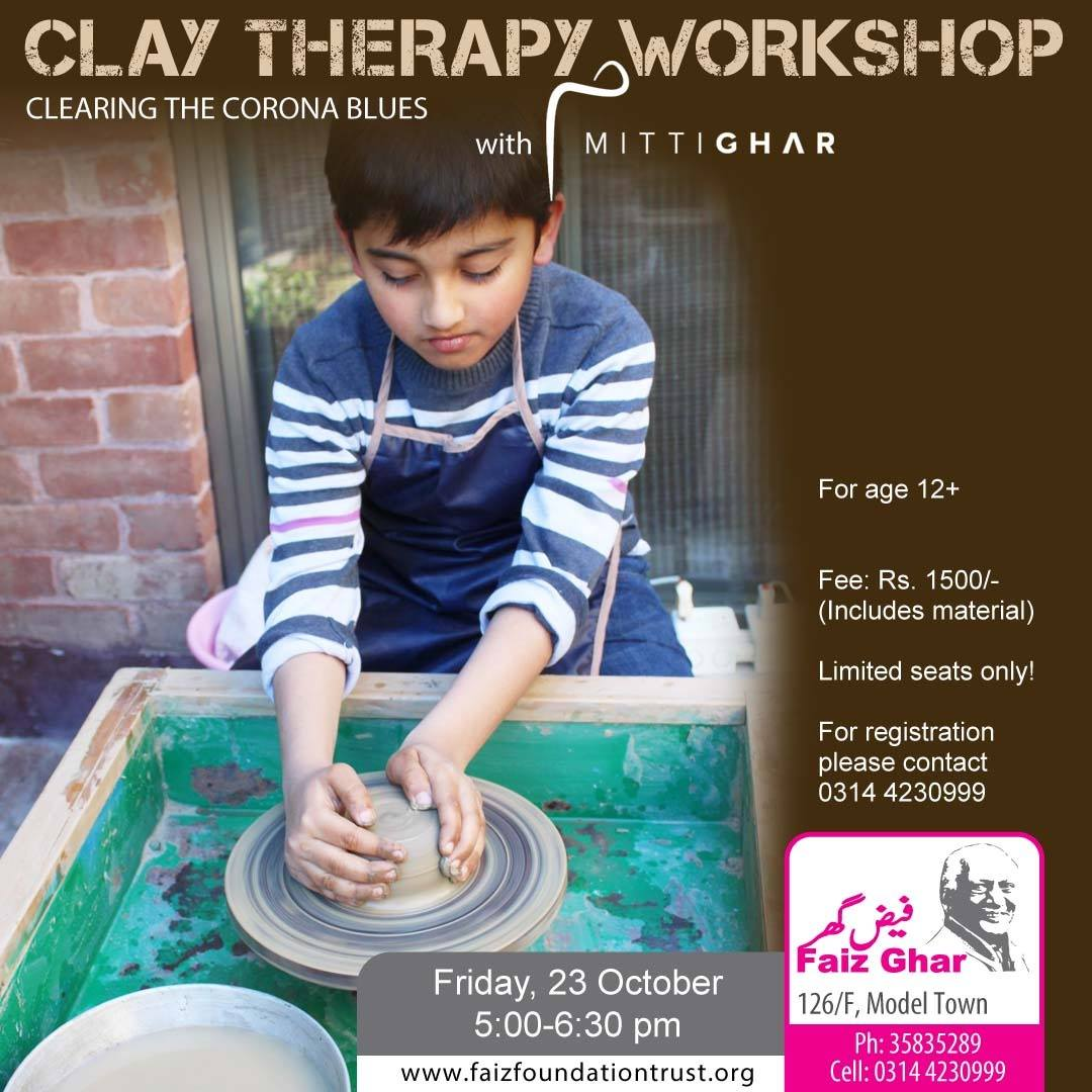Clay Therapy Workshop | MittiGhar | 23 Oct, 2020
