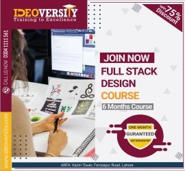 Full Stack Graphic Designer | Ideoversity | 24 Oct, 2020