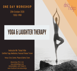 YOGA & LAUGHTER THERAPY | Absoindigo | 25th Oct, 2020