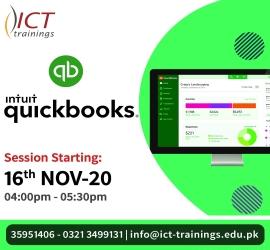 QuickBooks Session | ICT Trainings | 16 Nov, 2020