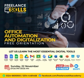 Office Automaton | Freelance Skills Academy | 22 Nov, 2020