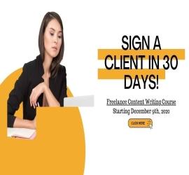 Freelance Content Writing Program | CareeHer | 09 Dec, 2020