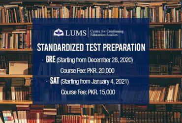 SAT EXAM PREP | CES – LUMS | 04 Jan, 2021