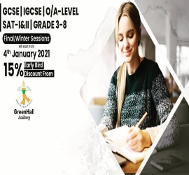 A-Levels | GreenHall | 04 Jan, 2021