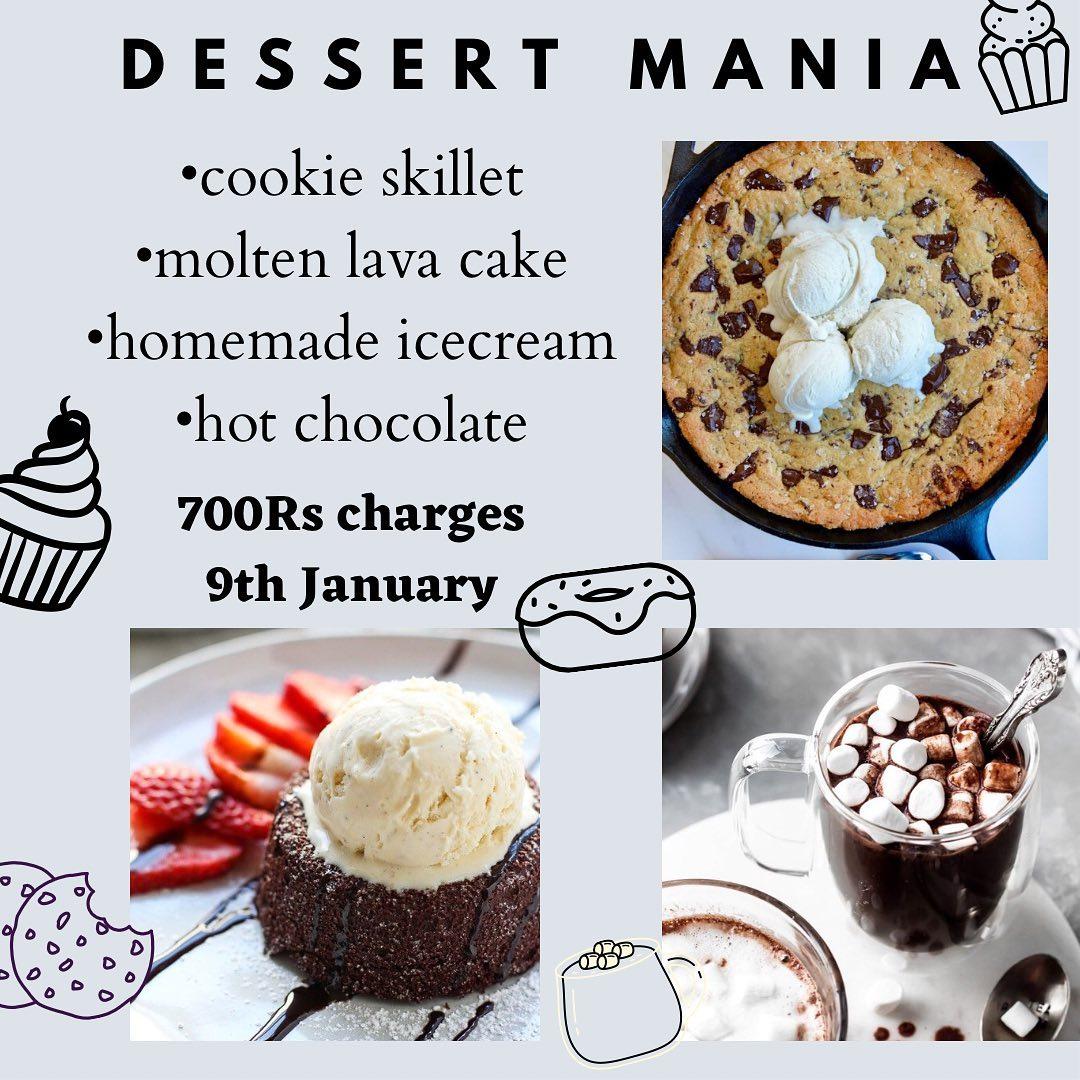 Dessert Mania Online Class | Sugar Monster | 09 Jan, 2021