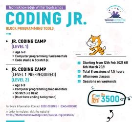 Block Programming Course | Technoknowledge | 12 Feb, 2021