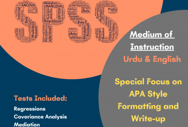 Level II SPSS COURSE: ADVANCED ANALYSIS USING SPSS