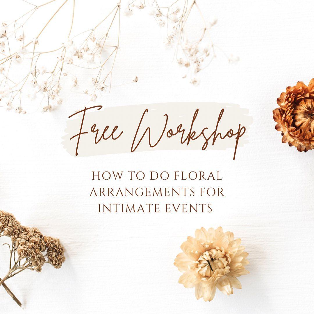 Floral Arrangements Workshop | HSC Courses