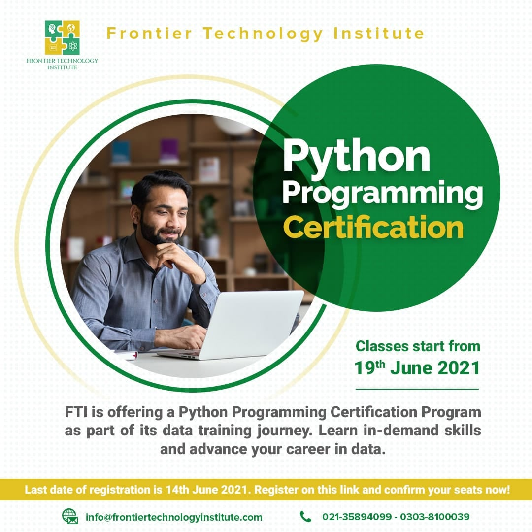 Python Programming Course | F.T.I | 19-06-21