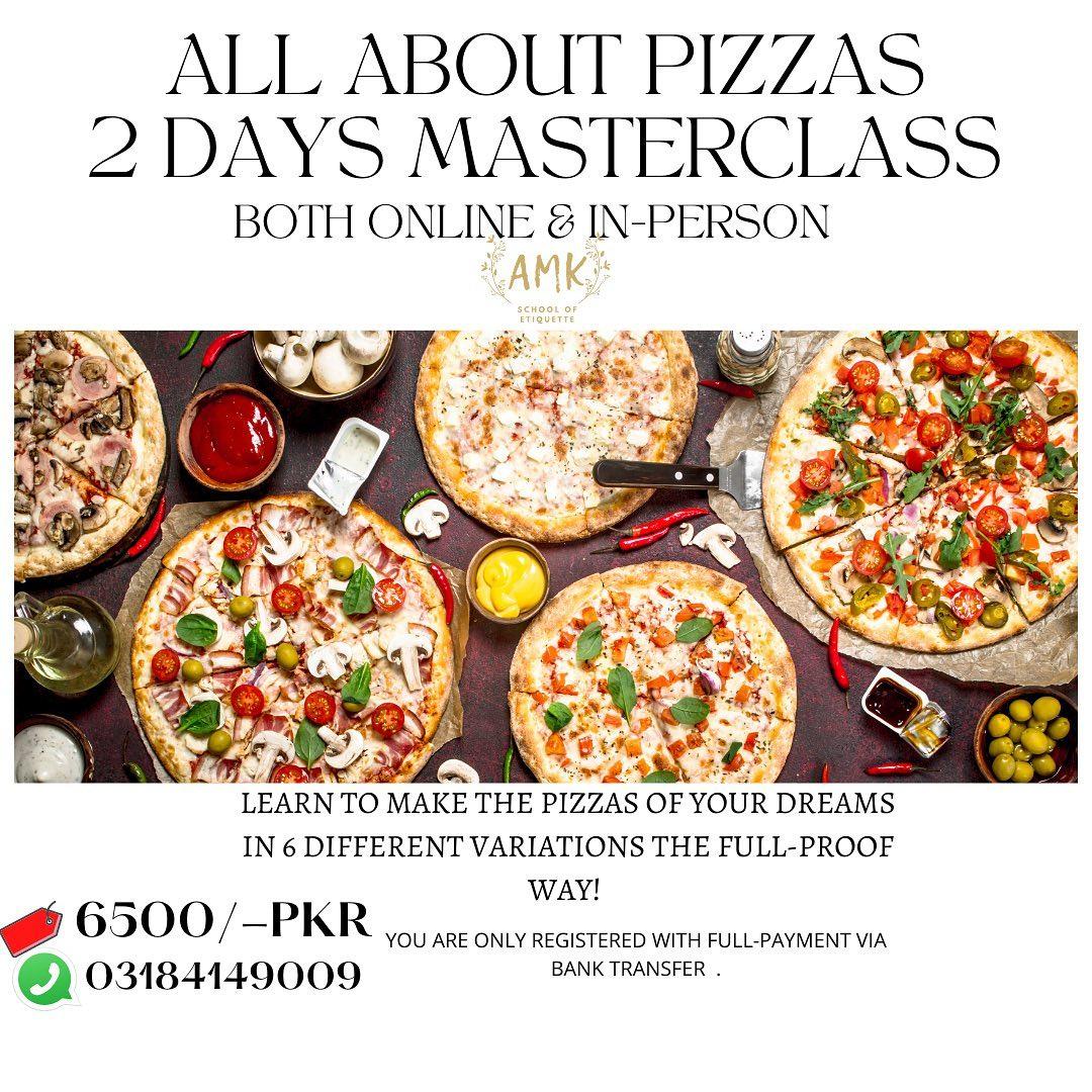 Pizzas Masterclass 🍕 | AMK School of Etiquette | 13-06-2021
