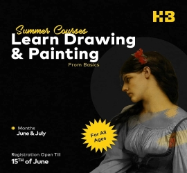 Drawing & Painting Course | HB Drawing Studio | 15-06-2021