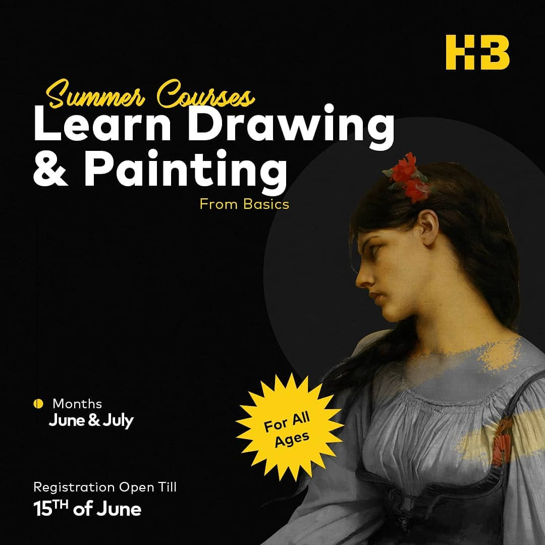 Drawing & Painting Course   HB Drawing Studio   15-06-2021