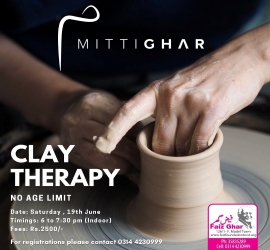 Clay Therapy | Mitti Ghar | 19-06-21